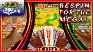 RE-SPINNING FOR A MAJOR JACKPOT!  • REEL RICHES • DRAGON'S WEALTH • LIVE PLAY & BONUSES! • [360/VR]