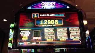 Golden Flash - Bally - HUGE WIN Slot Bonus