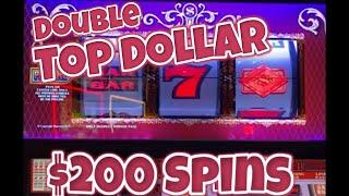 ⋆ Slots ⋆ $200 Bets on Double Top Dollar ⋆ Slots ⋆ High Limit Jackpots at The Hard Rock in Hollywood, Florida