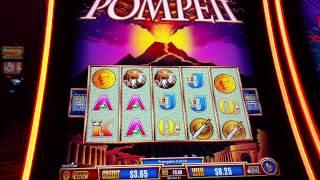 Wonder 4 Tower  Pompeii Max Bet Nice Win Aristocrat slot machine bonus