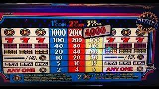 Free Play Triple Dollar Slot Max Bet $3 & Big Win Lightning Link Slot $2.50, San Manuel, AkafujiSlot