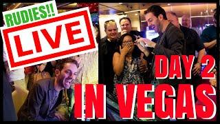•PRIVATE LIVE STREAM for the RUDIES in VEGAS CASINO •Slot Machines • with Brian Christopher • mifstu