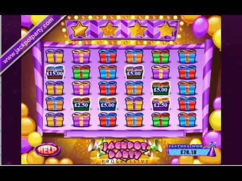 £209.29 SURPRISE JACKPOT WIN (523:1) ON SUPER JACKPOT PARTY™ ONLINE SLOT GAME AT JACKPOT PARTY!