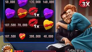 I LOVE LUCY Video Slot Casino Game with a LUCY LOVES RICKY BONUS