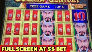 •️DRAGON LINK $5 BET•️ IT'S FULL SCREEN BUT WHAT IS IT?! | SUPER BIG WIN | PUMPKIN POWER BONUS SLOT
