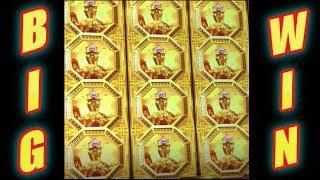 JACKPOT AWARDED! DANCING FOO SLOT * BIG WIN! An Explosion of Coins!