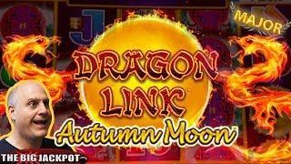 •6 Free Games MAJOR JACKPOT •Dragon Link Autumn Moon Slots •The Big Jackpot