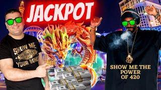 ⋆ Slots ⋆HANDPAY JACKPOT⋆ Slots ⋆ On High Limit Fu Dai Lian Lian Dragon - $26.40 BET !! NG Slot Vs S