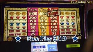 •FINALLY BIG WIN•Triple Cash Slot on Free Play Max Bet, Dragon's Law Twin Fever Slot Bet $3.50