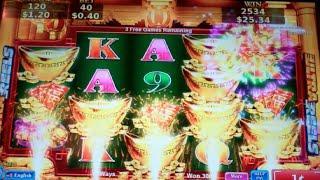 More Gold More Silver Slot Machine Bonus - 15 Free Games with More GOLD Symbols - Big Win