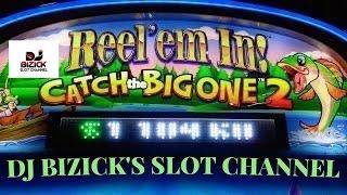 I CAUGHT A FISH ~ Catch The Big One 2 Slot Machine ~ FISHING BONUS! ~ * MAX BET * SUCKER FISH!!! • D