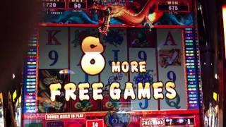 Shen Long Aruze Slot Free Spin and Retrigger Bonus Game ($0.50 Bet)