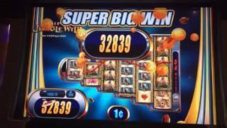 "SUPER BIG WIN!! ""SUPER JUNGLE WILD"" Slot Machine Bonus"