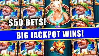 $50 MASSIVE WINS ON BIER HAUS ★ Slots ★ HIGH LIMIT SLOTS ★ Slots ★ BIG JACKPOT WINS!