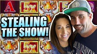 SLOT HUBBY CHALLENGE AND SLOT QUEEN STEALS THE SHOW !!