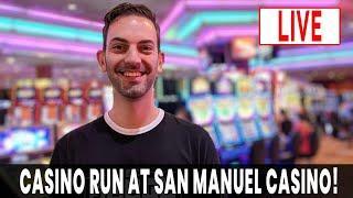 • LIVE Casino Run • SAN MANUEL CASINO with BCSlots.com #AD