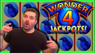 $20/SPIN! Down To The LAST SPIN EPIC COMEBACK! Wonder 4 JACKPOTS W/ SDGuy1234