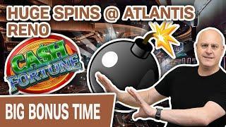 ⋆ Slots ⋆ MINI BOOM Playing CASH FORTUNE ⋆ Slots ⋆ HUGE SPINS @ Atlantis Reno