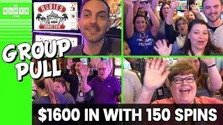 • $1600 In With 150 Spins • Group Pull @ Rudies Cruise • BCSlots