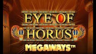 EYE OF HORUS MEGAWAY,S MEGA WIN!  DOGS GO CRAZY AND VERY UNPREDICTABLE!