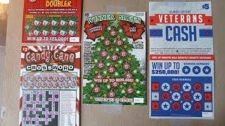 NEW - Playing ALL Four NEW Illinois Lottery Instant Ticket Scratchcards