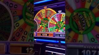 Wheel of Fortune Slot Machines BIG WIN on Multi-Wheel Bonus Game