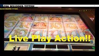 High Limit Cleopatra Slot Machine Live Play