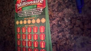 $20 Merry Millionaire Scratch Off Book Lottery Pool, Part 1