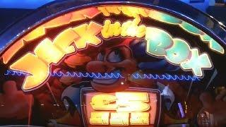 £5 Challenge Jack in the Box Fruit Machine at Southsea (Jack Thearcademaster Shoutout)