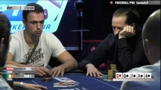 EPT 10 Grand Final 2014 - Super High Roller Day, 1 Highlights | PokerStars.com
