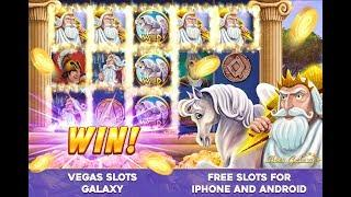 Vegas Slots Galaxy, the best free mobile slot machine game, with tons of fun bonus games!
