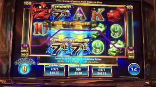 Ainsworth -- Stormin 7's Slot Machine Bonuses -- Big Win!!!