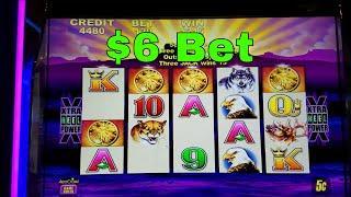 Buffalo Slot Machine Bonus Win !!! Live Play Nice Win (sorry for missing original sound)