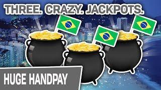 ⋆ Slots ⋆ THREE. CRAZY. JACKPOTS. ⋆ Slots ⋆ THIS Is The Reason I Love High-Limit Brazil Slots!