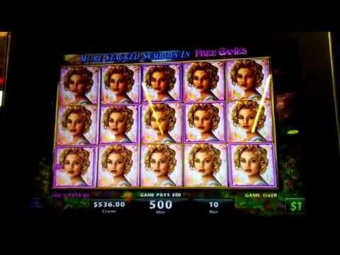 "Golden Goddess Slot Machine Line Hit $10 Max Bet - ""The Goddess"""