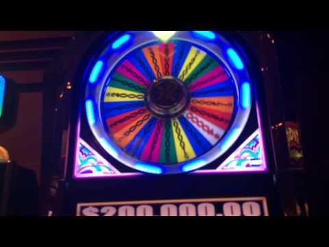 $100 wheel of fortune HANDPAY JACKPOT