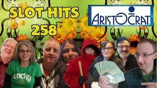 Slot Hits # 258 - Aristocrat - Outback Bucks - Vegas Wins - Mighty Cash