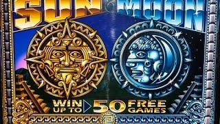 Sun And Moon Slot Machine Bonus-5 Cent Denomination
