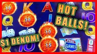 HOT FIRE LINK BALLS! • ULTIMATE FIRE LINK • FREE SPIN BONUSES & $1 DENOM SPINS!