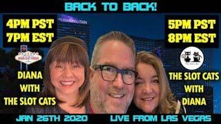 Live at the Cosmopolitan casino with Slot Cats!