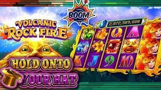 •NEW• HOLD ON TO YOUR HATS THIS IS A FUN ONE | Bonus | VOLCANIC ROCK FIRE | Deja Vu Slots