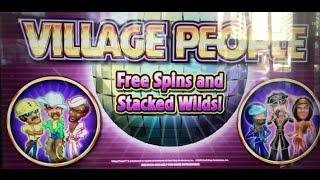 Village People Slot Machine •LIVE PLAY • Cosmopolitan, Las Vegas