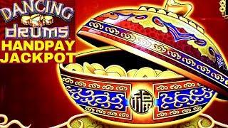 Dancing Drums Slot Machine Max Bet •HANDPAY JACKPOT•| MEGA WIN |+Golden Gecko Slot Machine Live Play