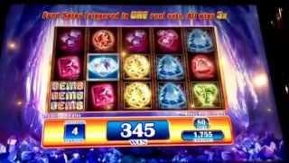 Gems Gems Gems Slot Machine Bonus New York Casino Las Vegas