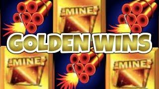 *GOLDEN WINS!* HUGE WINS on Where's The Gold & Gold Bonanza Slot Machines!