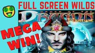 MEGA WIN!  ORDER OF THE DRAGON FORTUNE + ORDER OF THE DRAGON VICTORY SLOT MACHINE POKIE