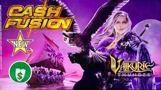 •️ New - Cash Fusion Valkyrie Thunder slot machine, bonus