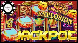 •️HANDPAY JACKPOT Dancing Drums Explosion •️1st Try on Willy Wonka Wonkavator $30 BONUS Slot Machine
