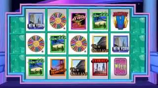 WHEEL OF FORTUNE Video Slot Casino Game with a SPIN THE WHEEL BONUS