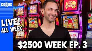 • WED LIVE •️ Ep. 3 • $2500 @ San Manuel Casino • BCSlots (S. 13 • Ep. 3)